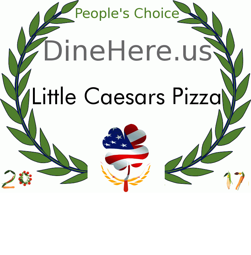 Little Caesars Pizza DineHere.us 2017 Award Winner